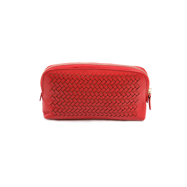 KNITTED MAKE-UP BAG