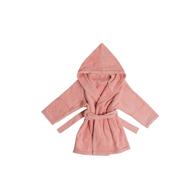 NATURAL DYED CHILD BATHROBE 2-3 YEARS