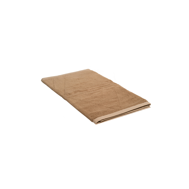 NATURAL DYED TOWEL BATH MAT