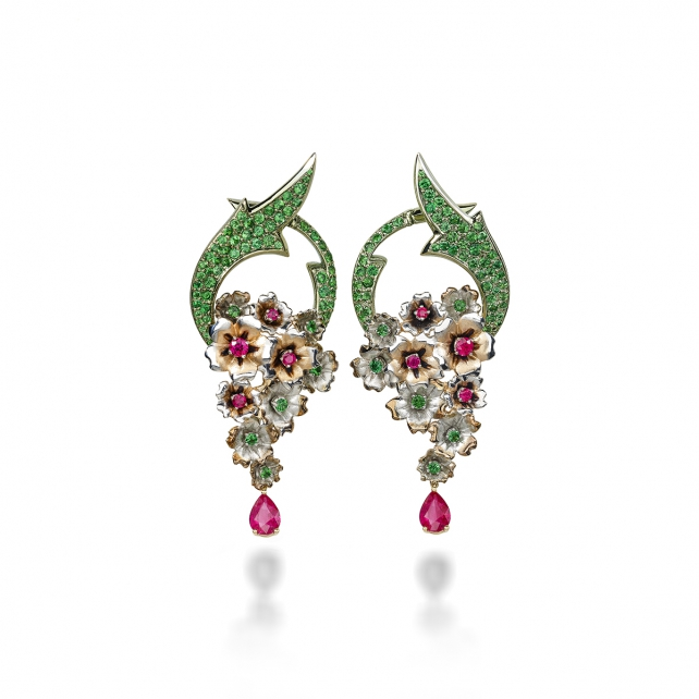 RUBY VERVAIN EARRINGS