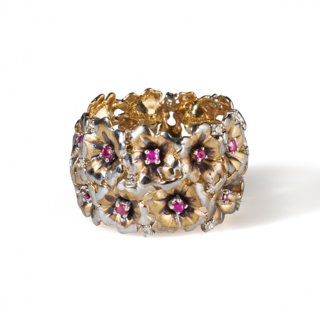 RUBY VERVAIN RING