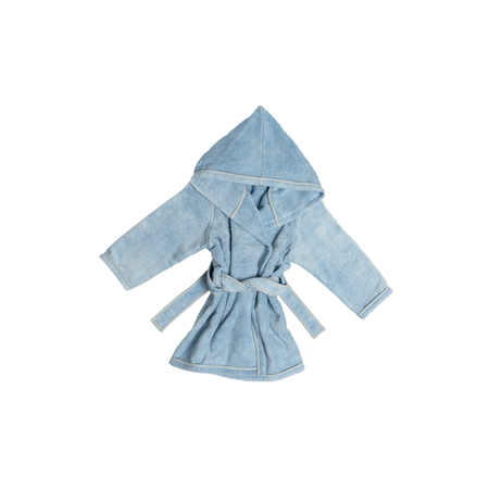 Natural Dyed Child Bathrobe 4-5 Years