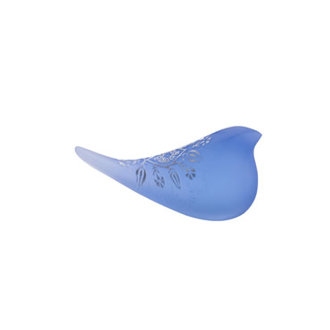 Desenli Salacak Kuşu Dekoratif Obje