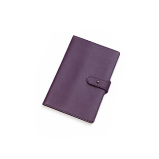 SILVER DETAILED A5 NOTEBOOK
