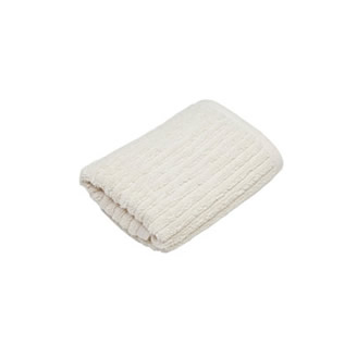STRIPED FACE TOWEL